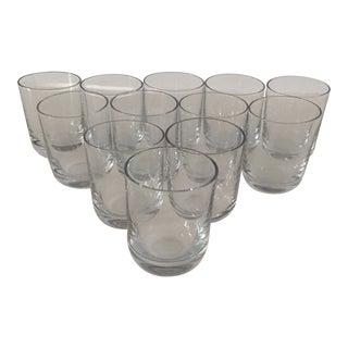 1960's Orrefors Crystal Shot Glasses - Set of 12 For Sale