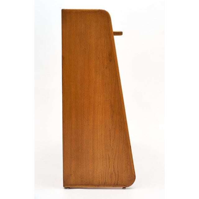 French Modernist Oak Console For Sale In Austin - Image 6 of 10