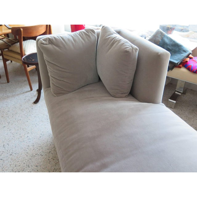 1960s Modern Mid-Century Harvey Probber Tete-A-Tete Gray Sofa For Sale - Image 5 of 7