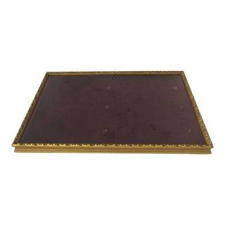 Vintage Lift Top Table Top Gilt Display Frame For Sale