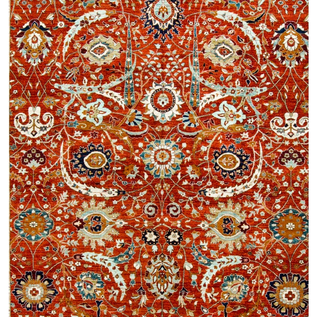 Traditional Hand Woven Rug - 14'4 X 22'8 - Image 3 of 3