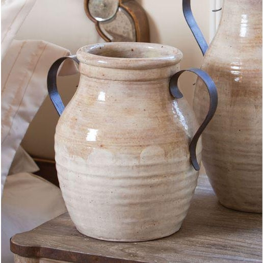 The Brookvale jug masterfully combines handcrafted ceramics and rustic metal. The results are earthy and old-world,...