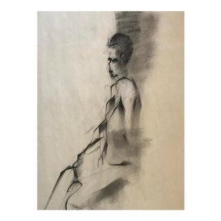 Figurative Charcoal Drawing