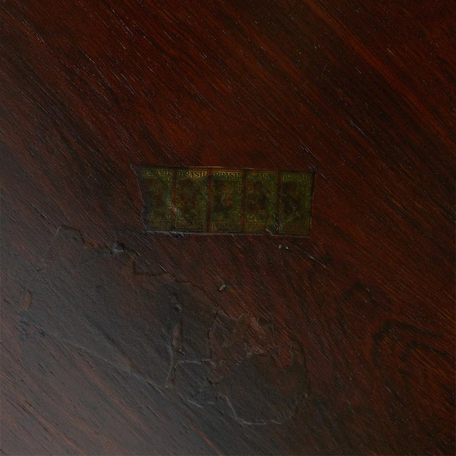 1960s Andorinha Table by Jorge Zalszupin For Sale - Image 5 of 6