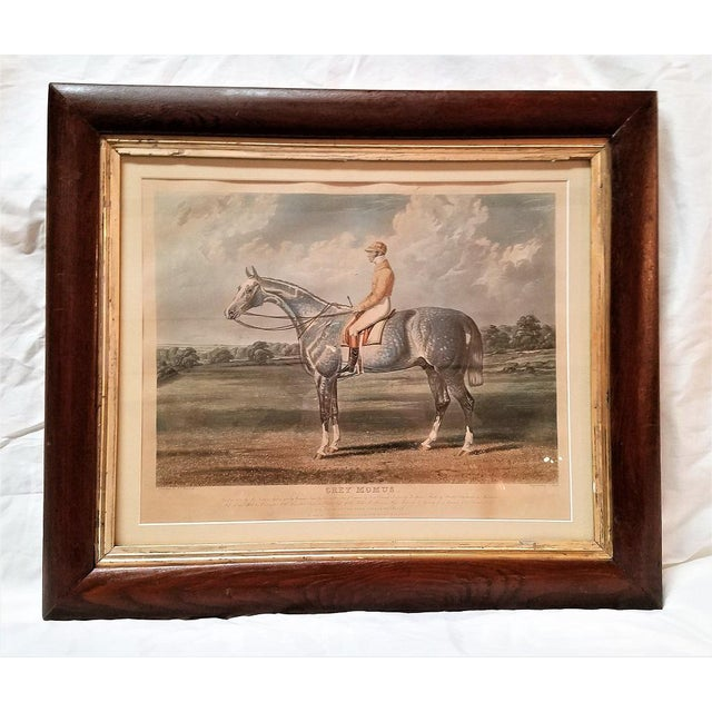 Presenting a FABULOUS and VERY RARE, ORIGINAL Early-19th Century Chromolithograph Engraving after a painting by John...