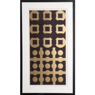 """1960s Victor Vasarely, """"Procion From Constellations"""", Op Art Screenprint For Sale"""