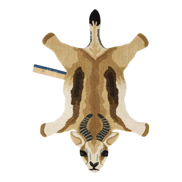 Doing Goods Jumpy Springbok Rug Small For Sale