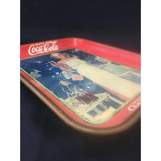 Vintage Coca Cola Tray 64