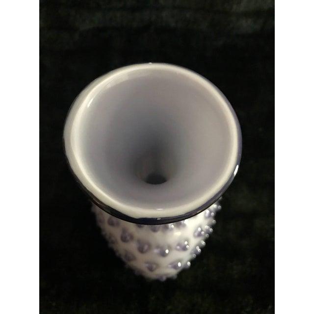 Incredible Empoli Murano Vase Glass Italian Aqua Blue 1950s 1960s