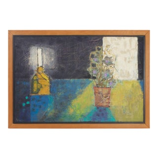 Modernist Still Life Painting For Sale