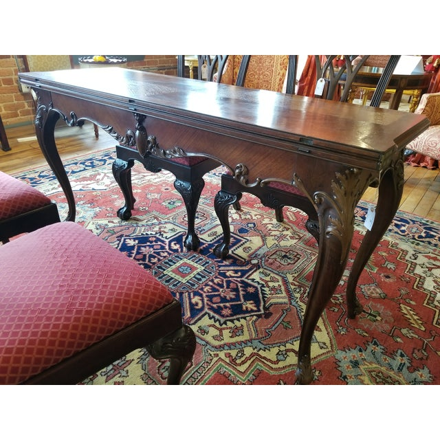 Early 20th Century Early 20th Century Leonardo LIV-Dine Table From Waldorf Astoria For Sale - Image 5 of 13