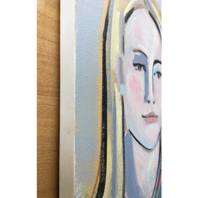 Expressionism Portrait of Three For Sale - Image 3 of 3