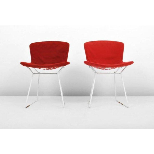 These early production and all original Harry Bertoia for Knoll International wire chairs are one of the most iconic...