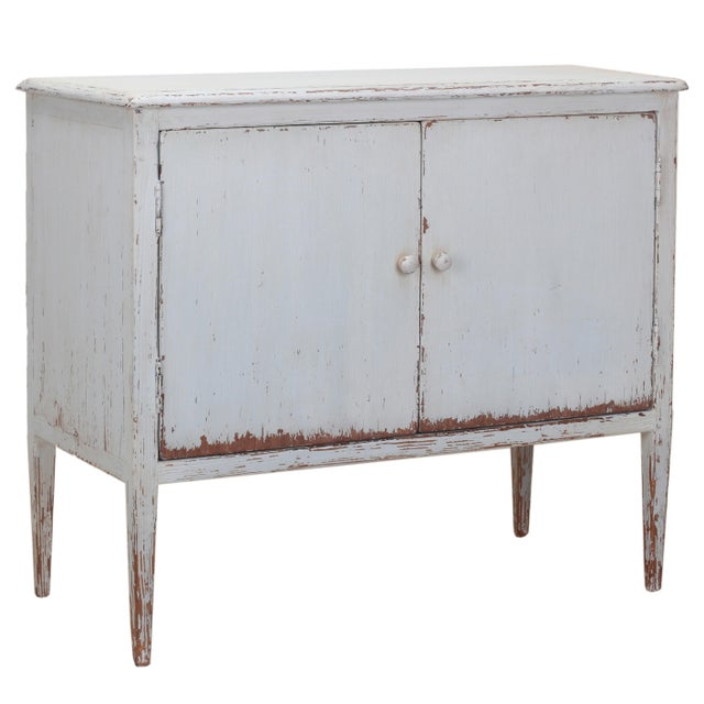 Sarreid LTD Pine Zack Cabinet - Image 1 of 5