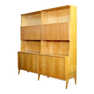 Gio Ponti Style Bookcase For Sale