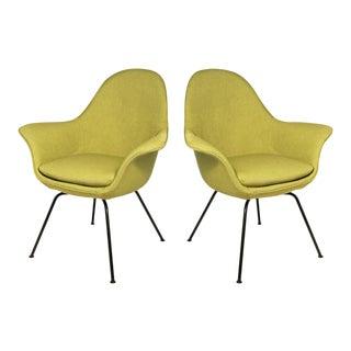 Pair of Mid-century Modern Chairs by Hans Bellman for Strassle, Switzerland 1954