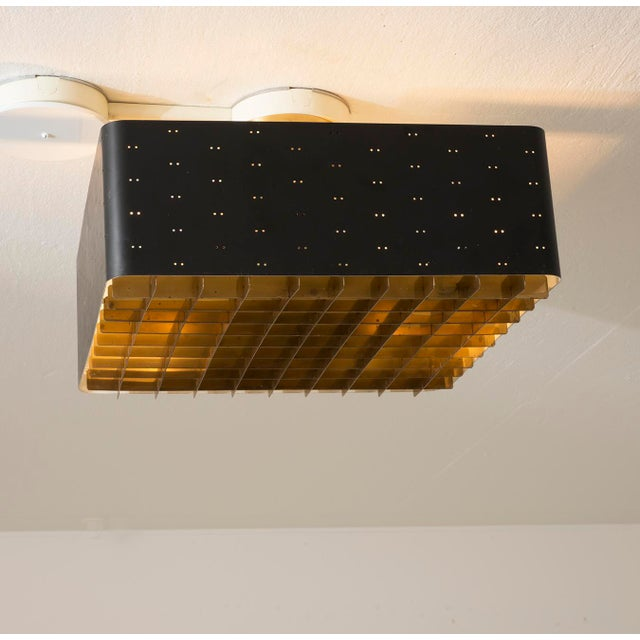 Paavo Tynell Model # 9068 Ceiling Lamp in Black, Finland, 1960s For Sale In Santa Fe - Image 6 of 11