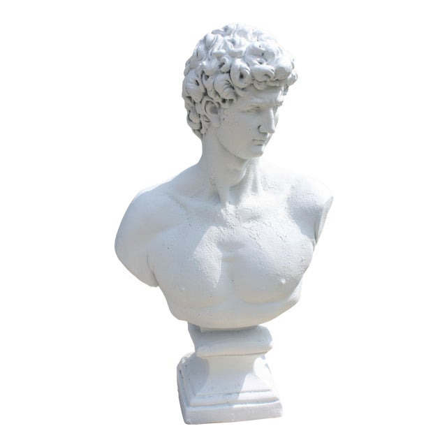 Large Scale Bust of David For Sale