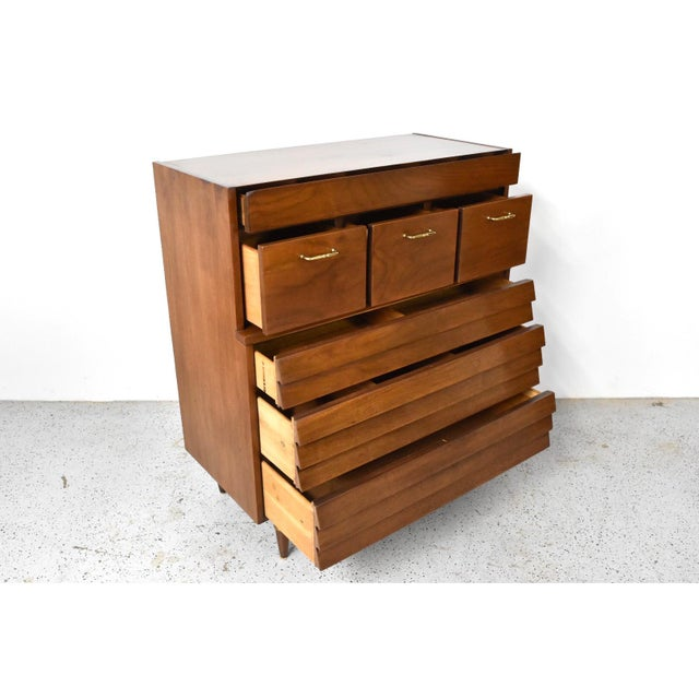 American of Martinsville Dania Highboy Chest - Image 4 of 10