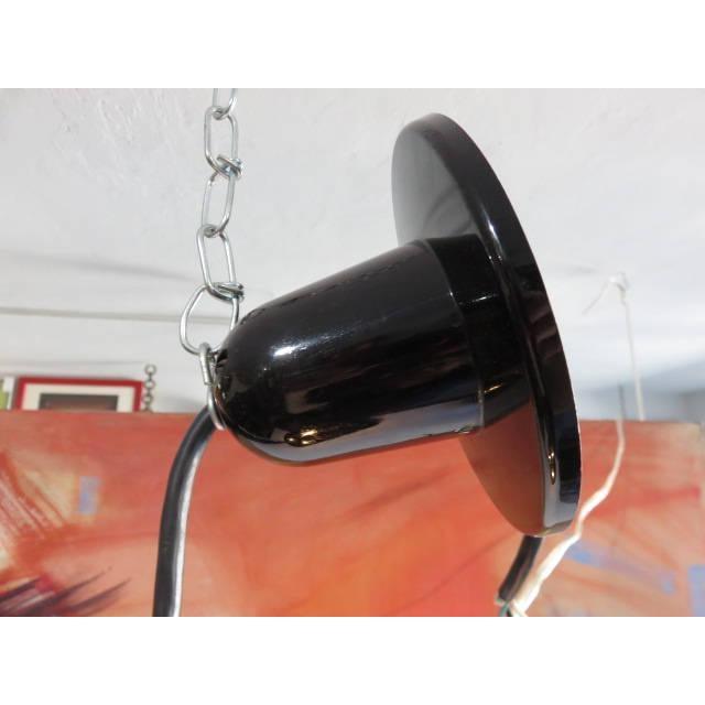 Black MI- Century Modern Slim Line Design Lamp by Flos. Signed For Sale - Image 8 of 11