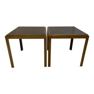 Crate & Barrel Pascal Bunching Tables - a Pair For Sale