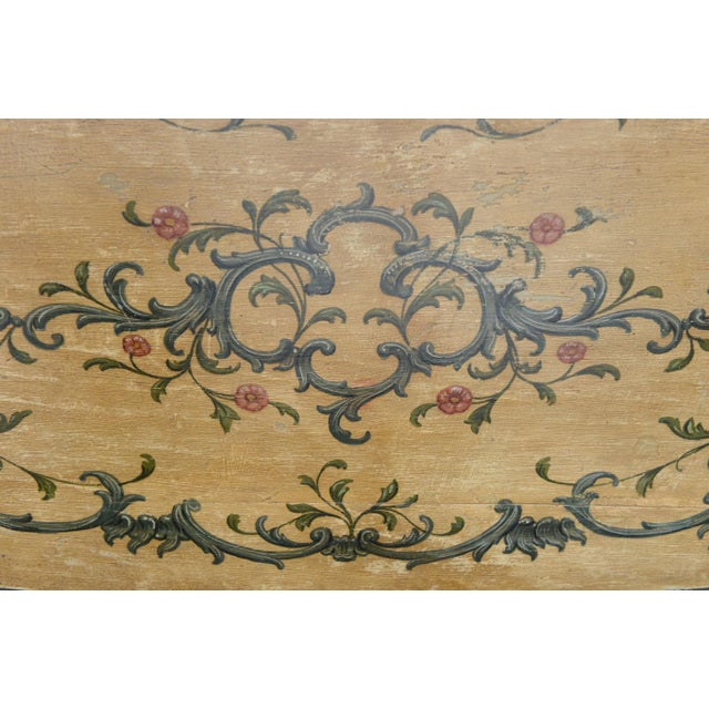 Hand Painted 19th Century Console Table For Sale - Image 10 of 11