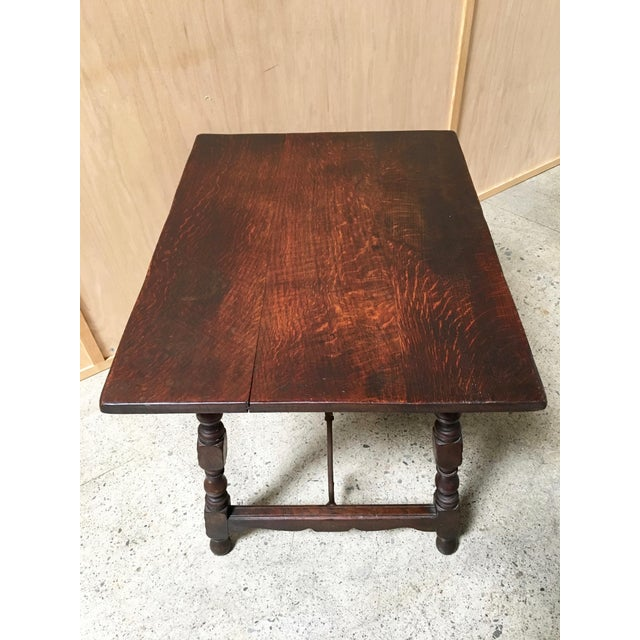 Early 20th Century Spanish Side Table For Sale - Image 4 of 9