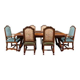 Antique French Dining Set For Sale