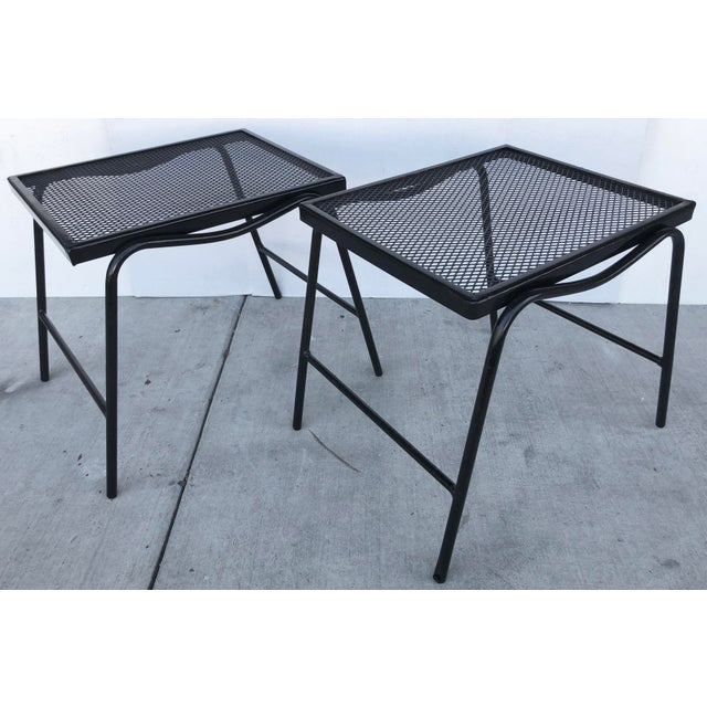 1950s Mid-Century Modern Side Tables - a Pair For Sale - Image 5 of 8