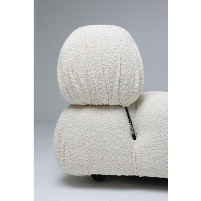 Textile Camaleonda Bouclé Wool Sectional Sofa by Mario Bellini For Sale - Image 7 of 8