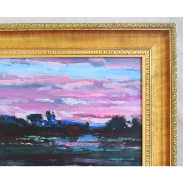 Abstract Juan Guzman Santa Barbara California Landscape Oil Painting For Sale - Image 3 of 10