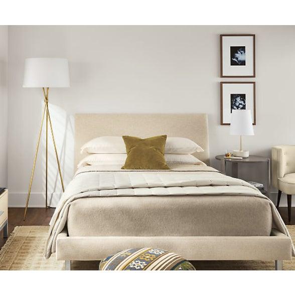 Mustard Velvet Down Pillow - Image 3 of 3