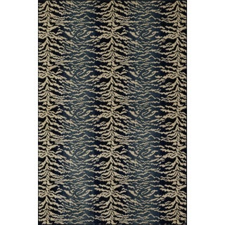 "Stark Studio Rugs Tabby Blue Rug - 5'3"" X 7'10"" For Sale"