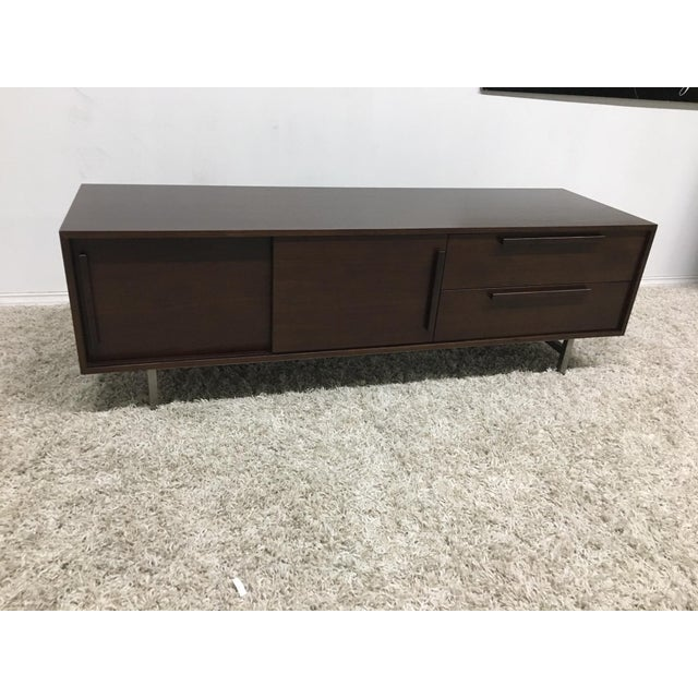 2000 - 2009 Mid-Century Modern Tribeca Media Console For Sale - Image 5 of 5