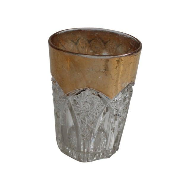 Vintage Prescut Gold Rimmed Glasses - Set of 4 For Sale - Image 5 of 7