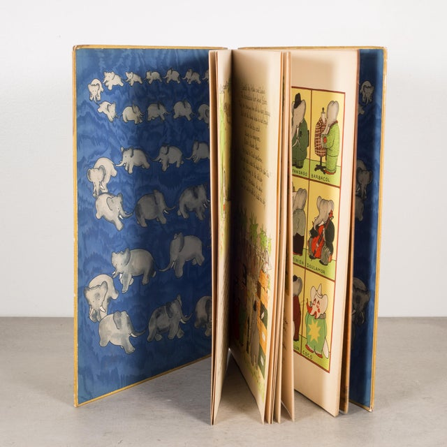 Early 20th Century Babar the King 1st Editon 1935 For Sale - Image 5 of 6