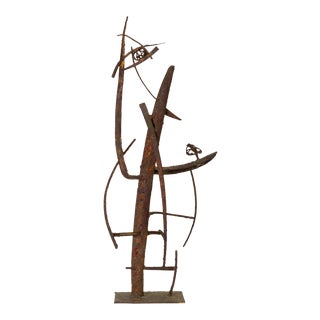 """Jacob's Ladder"" Welded Metal Sculpture by Max Finkelstein For Sale"