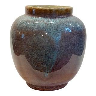 Royal Hickman of Royal Haeger Glazed Ceramic Vase/Vessel For Sale