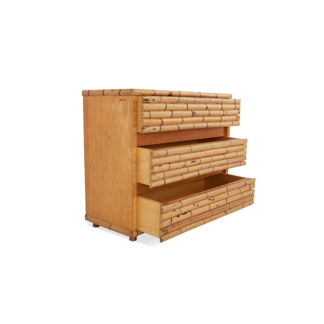 Venturini Bamboo Chest of Drawers For Sale - Image 6 of 10