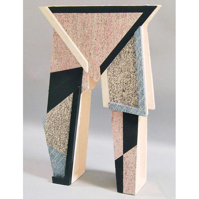 American Architectural Contemporary Ceramic Sculpture by Roy Strassberg (Born NY, 1950) contemporary ceramic sculpture,...