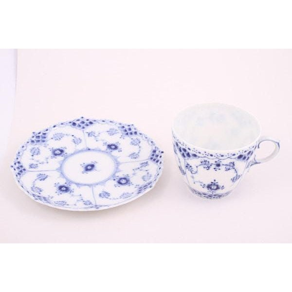 Royal Copenhagen Mini Cup & Saucer - A Pair For Sale In Los Angeles - Image 6 of 8