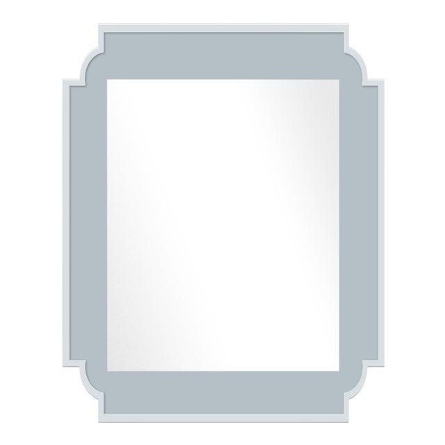 Fleur Home x Chairish Camp Mirror in Parma Gray, 24x36 For Sale