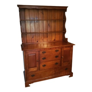 Stickley Cherry Valley Chest and Plate Rack For Sale