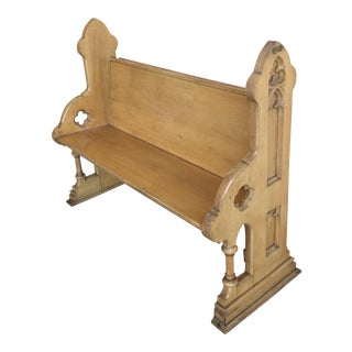Vintage Church Pew or Bench For Sale