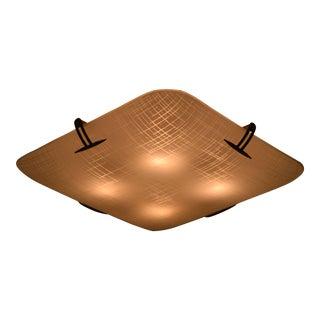 Ceiling Flush Fixture by Carl Moser for Lightolier Model 4924 For Sale