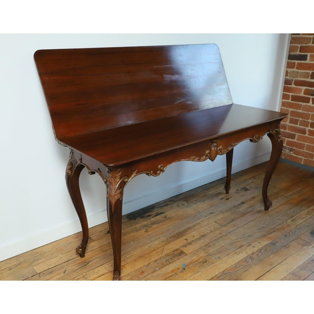 English Early 20th Century Leonardo LIV-Dine Table From Waldorf Astoria For Sale - Image 3 of 13