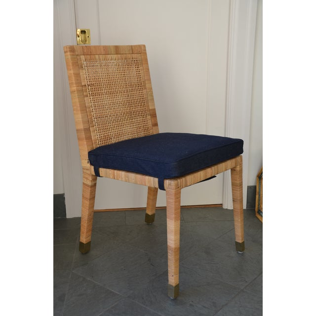 Contemporary Serena & Lily Balboa Side Chair With Cushion For Sale In San Francisco - Image 6 of 6