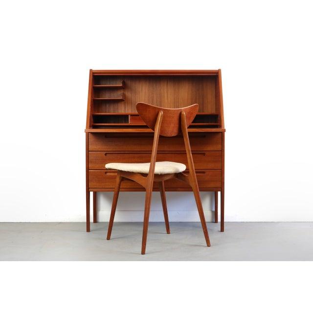 1960s Mid-Century Modern Nils Jonsson for Torring Mobelfrabrik Teak  Secretary Desk