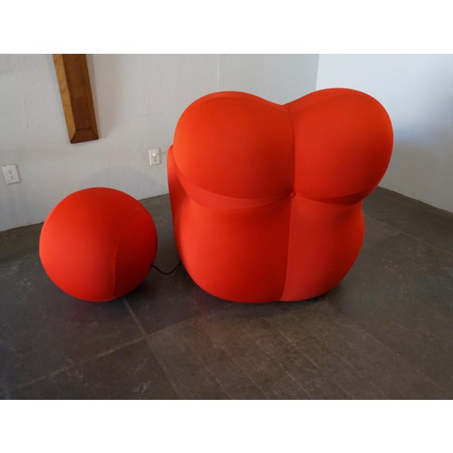 Gaetano Pesce Up5 and Up6 Lounge Chair and Ottoman for B&B Italia For Sale In Palm Springs - Image 6 of 8
