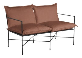 Image of Orange Outdoor Sofas